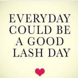 Everyday lash day